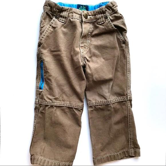 e4783847c Mini Boden Bottoms | Brown W Blue Cargos 23y | Poshmark